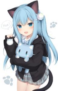 Anime-AO-nekoha-Shizuku-nekomimi