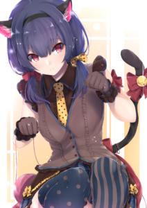 Rinze-Morino-idolmaster-shiny-colors-nekomimi-Animal-Ears